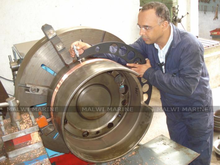 Malwi Marine component inspection