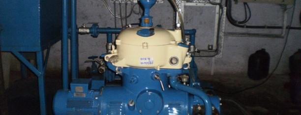 Westfalia OTA-7 separator