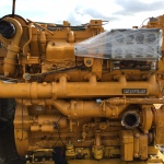 CAT D379 marine engine c/w gearbox
