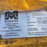 Masson RSD471 gearbox for D379