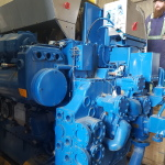 Wartsila 6L26A2 cooling end
