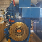 Wartsila 6L26A2 flywheel view