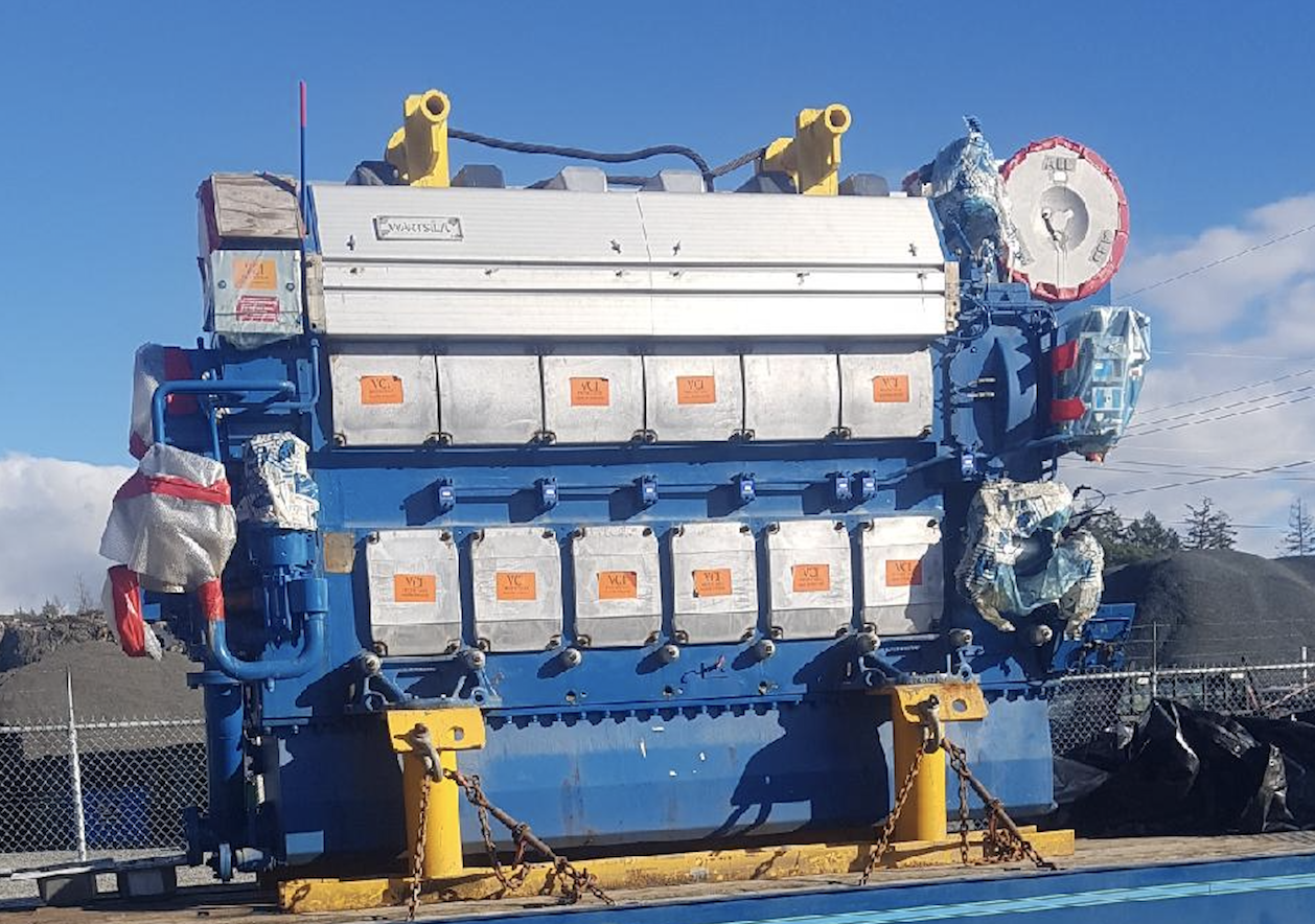 Featured Engine For Sale: Wartsila 6L26A2 unused 2008 Tier II marine diesel