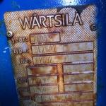 Wartsila 6L26 name plate
