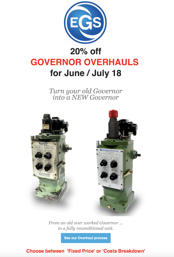 EGS Governor deals May 2018
